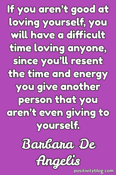 Word of Encouragement by Barbara De Angelis